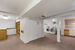 Large basement with washer & dryer and extra work space